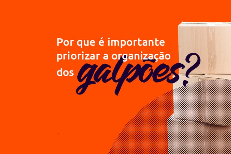 Por que é importante priorizar a organização dos galpões?